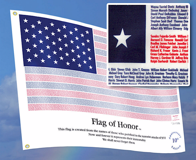 Flag of Honor Heroes Sep 11
